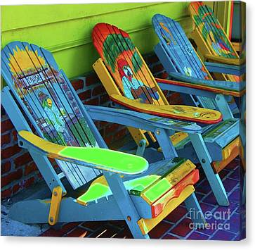 License To Chill Canvas Print by Debbi Granruth