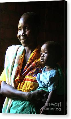 South Sudan Canvas Print - Light In The Doorway by Alisha Robertson