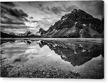 Canvas Print featuring the photograph Light On The Peak by Jon Glaser