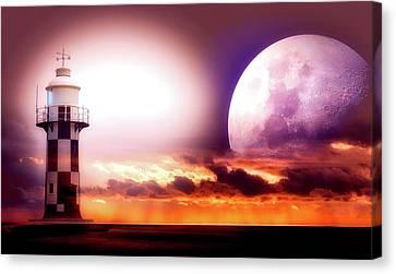 Light To Light Canvas Print by Piro4d