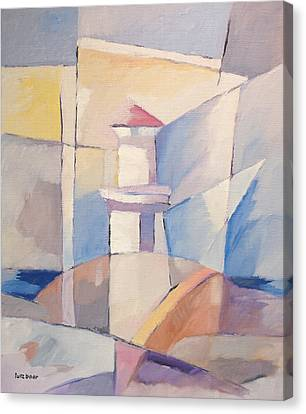 Lighthouse Abstraction Canvas Print