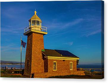 Lighthouse Point Canvas Print by Garry Gay