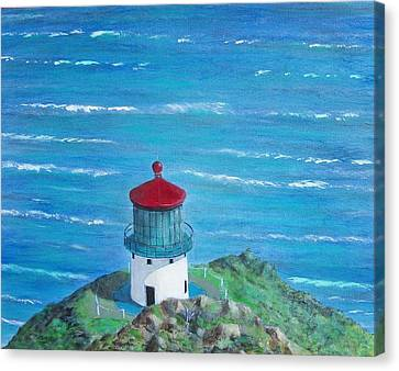 Lighthouse Canvas Print by Tony Rodriguez