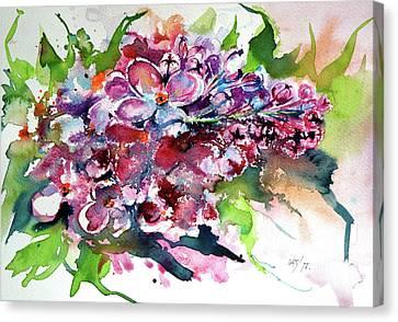 Lilacs Canvas Print - Lilac by Kovacs Anna Brigitta