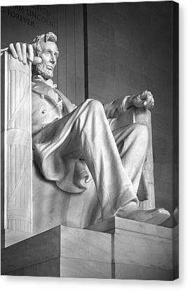 Mike Canvas Print - Lincoln Memorial by Mike McGlothlen