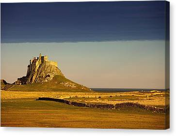 Lindisfarne, Northumberland, England A Canvas Print