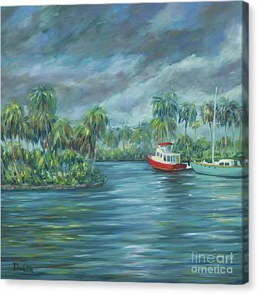 Little Florida Canvas Print