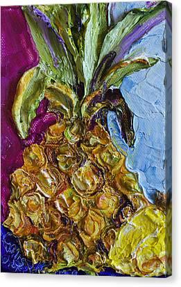 Little Pineapple Canvas Print