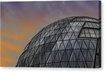 London City Hall Canvas Print by Martin Newman