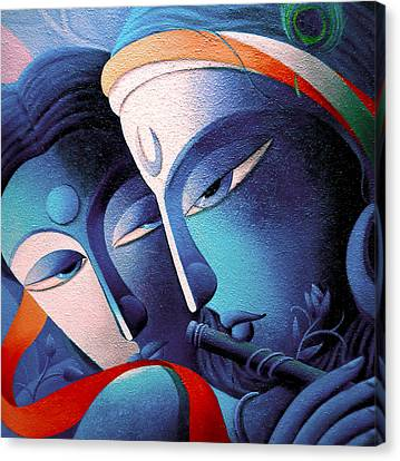 Lord Sri Krishna Canvas Print