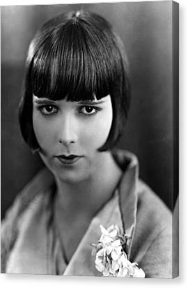 Louise Brooks, Late 1920s Canvas Print