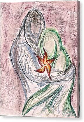 Love Grows Canvas Print by Jennifer Addington