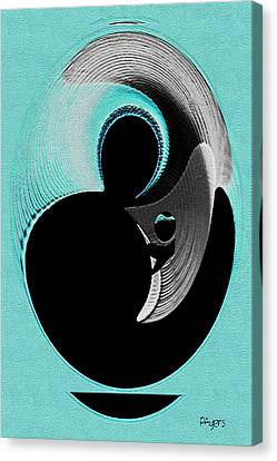Love Is   Canvas Print by Paula Ayers