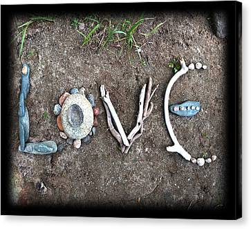 Love Canvas Print by Tanielle Childers