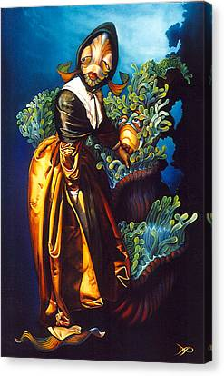 Love Thine Anemone Canvas Print by Patrick Anthony Pierson