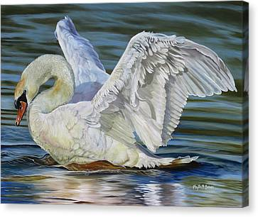 Lovely Canvas Print by Phyllis Beiser