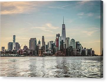 Lower Manhattan  Canvas Print by Thomas Marchessault