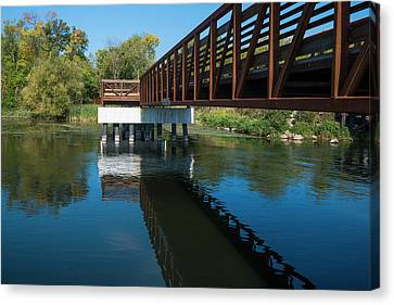 Canvas Print - Lower Yahara River Trail 3- Madison - Wisconsin by Steven Ralser