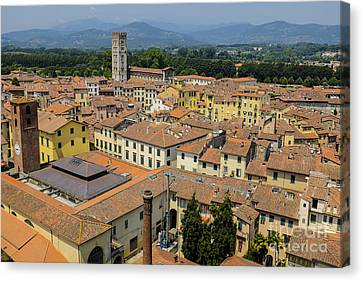 Lucca Italy Canvas Print