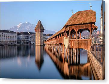 Lucerne Canvas Print - Lucerne - Switzerland by Joana Kruse