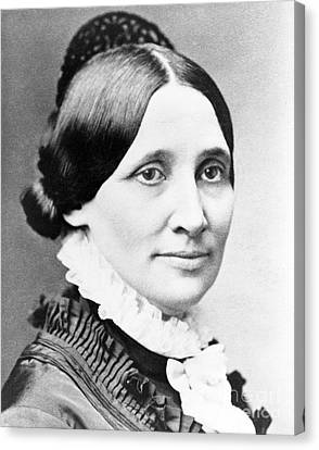 First Ladies Canvas Print - Lucy Hayes, First Lady by Science Source