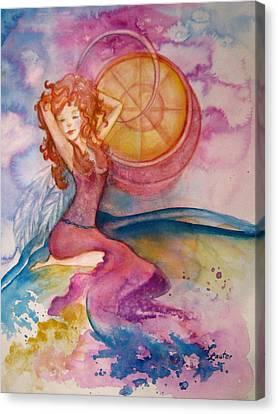 Luna Canvas Print by L Lauter