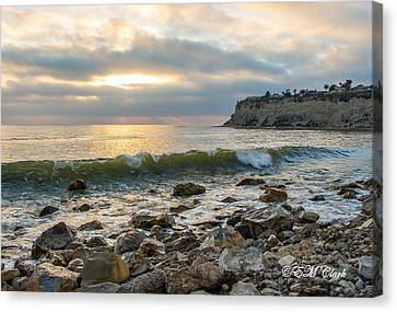 Lunada Bay Canvas Print by Ed Clark