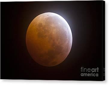 Totality Canvas Print - Lunar Eclipse by Phillip Jones