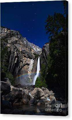 Lunar Rainbow Canvas Print by Anthony Bonafede