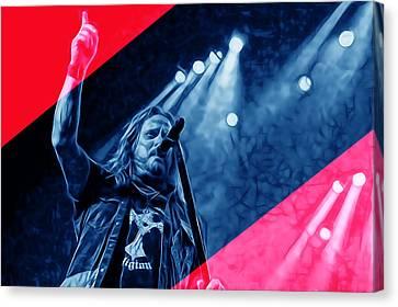 Lynyrd Skynyrd Canvas Print - Lynyrd Skynyrd Collection by Marvin Blaine