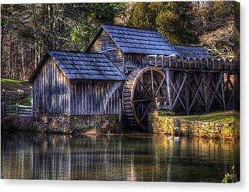 Mabry Mill Canvas Print by Steve Hurt