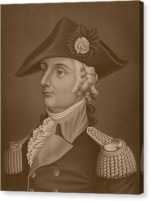 Mad Anthony Wayne Canvas Print by War Is Hell Store