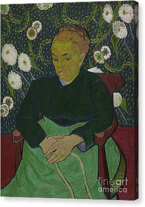 Madame Roulin Rocking The Cradle Canvas Print