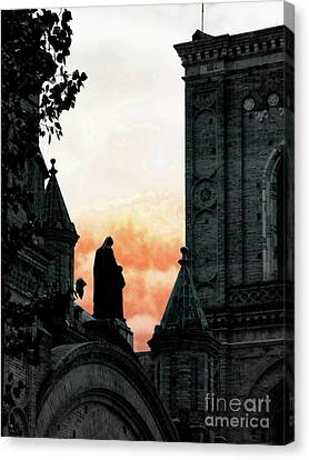 Madonna And Child II Canvas Print by Al Bourassa