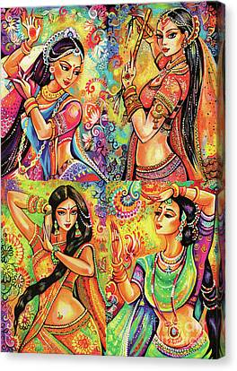 Magic Of Dance Canvas Print by Eva Campbell