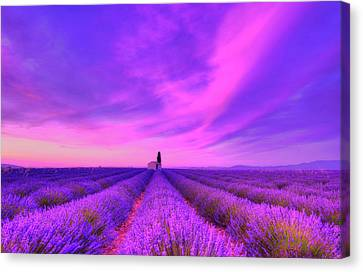 Abandoned Houses Canvas Print - Magical Fields by Midori Chan