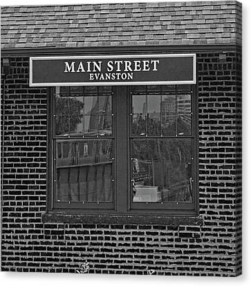 Main Street Station Canvas Print by Michael Flood
