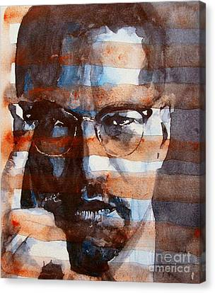 Malcolmx Canvas Print by Paul Lovering