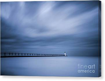 Stopper Canvas Print - Manistee Lighthouse by Todd Bielby