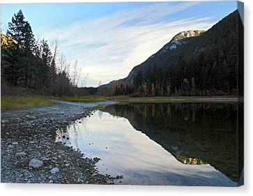 Marble Canyon British Columbia Canvas Print by Pierre Leclerc Photography