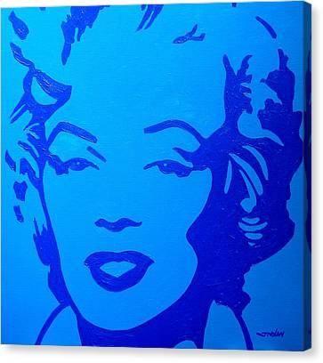 Marilyn Canvas Print by John  Nolan