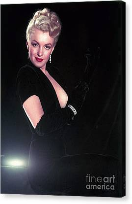 Marilyn Monroe Canvas Print by The Titanic Project