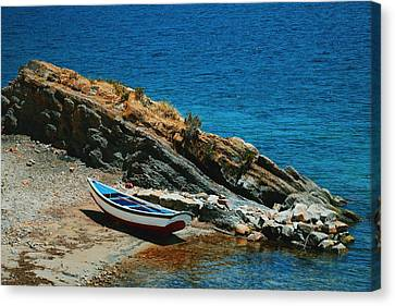 Marooned Canvas Print by Skip Hunt