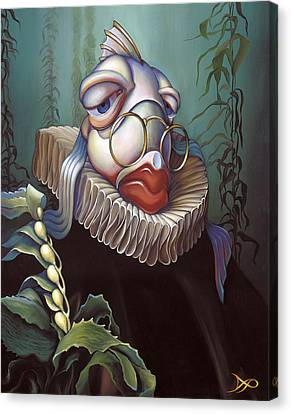 Seaweed Canvas Print - Marquis De Sole by Patrick Anthony Pierson