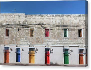 Marsaxlokk - Malta Canvas Print by Joana Kruse