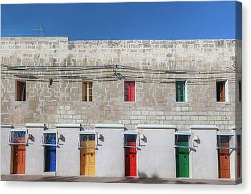 Haus Canvas Print - Marsaxlokk - Malta by Joana Kruse