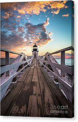 Marshall Point Sky Canvas Print by Benjamin Williamson