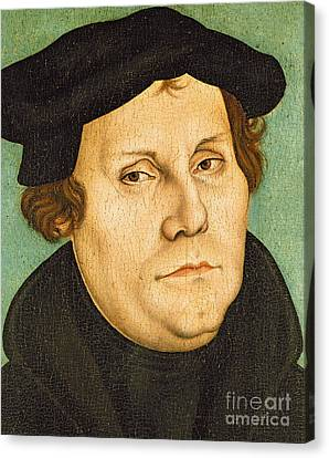 Martin Luther Canvas Print