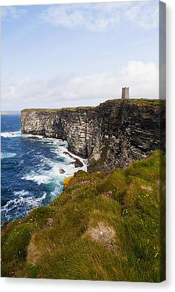 The Interests Of Society Canvas Print - Marwick Head Rspb Nature Reserve by Kav Dadfar