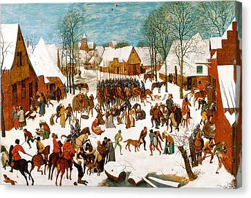 Bruegel Canvas Print - Massacre Of The Innocents by Pieter Bruegel the Elder
